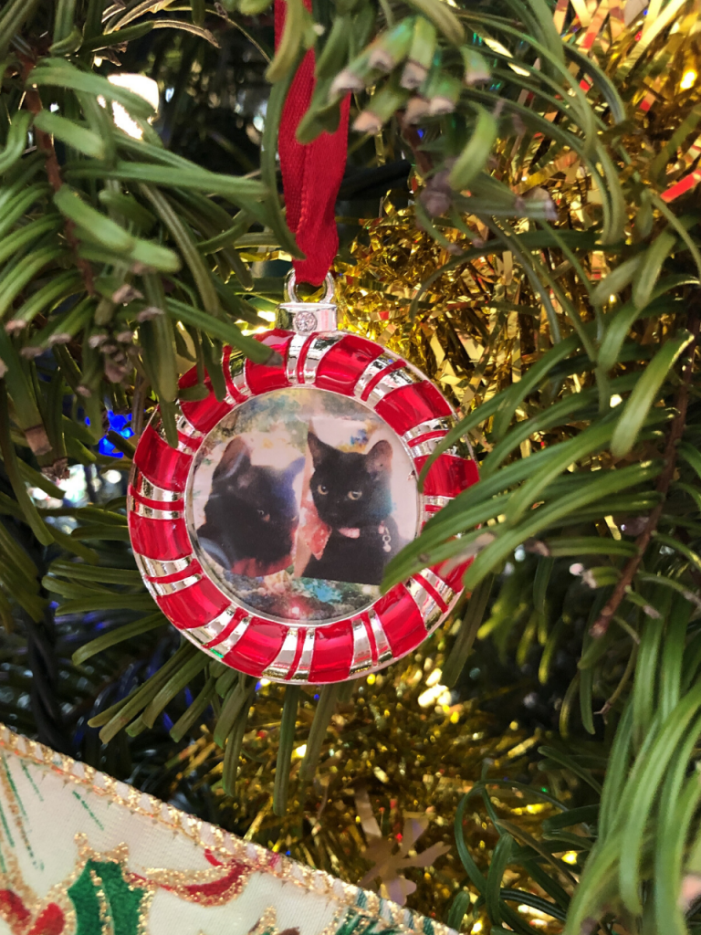 Jinx and Josie Christmas Ornament abigailleighreed.com