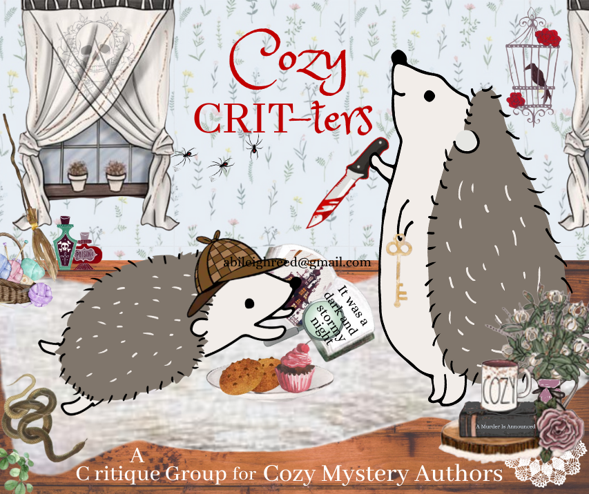 Cozy CRIT-ters – Cozy Mystery Critique Group