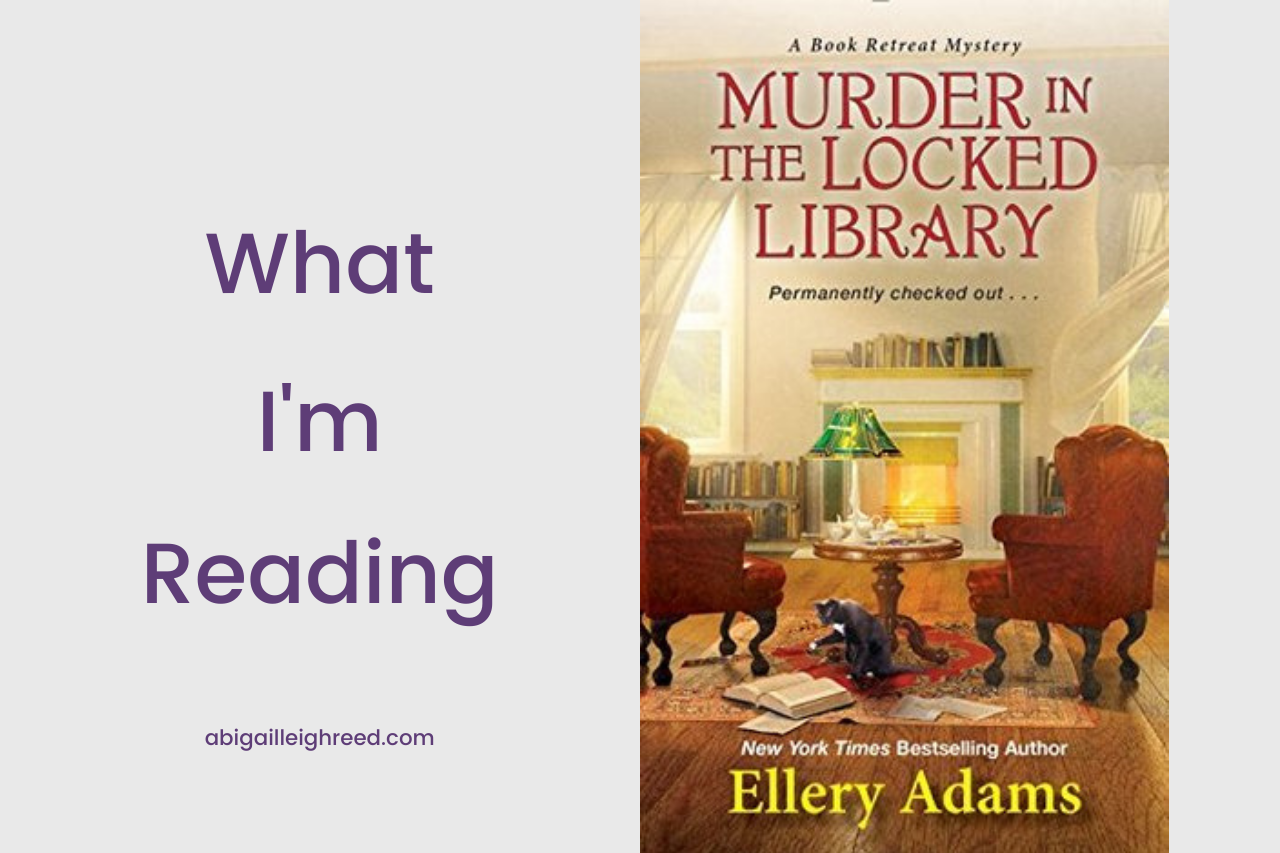 MURDER IN THE LOCKED LIBRARY – What I'm Reading