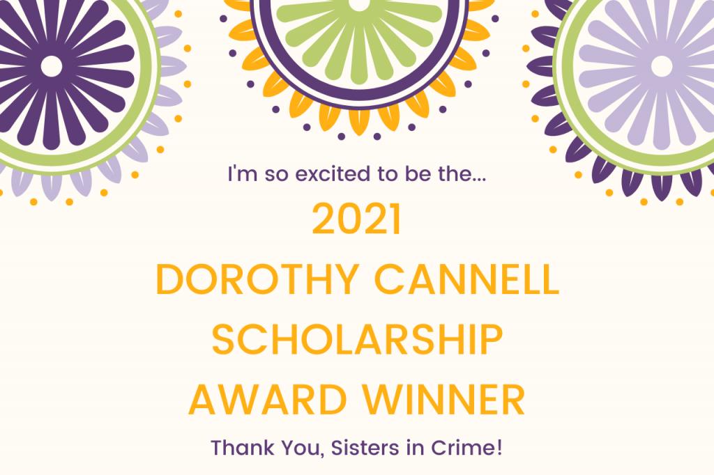 Dorothy Cannell Scholarship Award Winner 2021