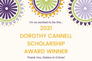 Dorothy Cannell Scholarship Winner